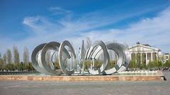 *** (Jonny CH) Tags: city blue sky art fountain sony kazakhstan  astana        a6000