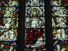 Christ in Glory (Aidan McRae Thomson) Tags: church window stainedglass coventry warwickshire walsgrave claytonbell