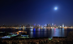 New York CIty (mudpig) Tags: nyc newyorkcity longexposure ny newyork reflection skyline night skyscraper river outdoors photography newjersey colorful cityscape manhattan nj midtown timessquare esb hudsonriver empirestatebuilding hdr horizonte bluemoon nuevayork weehawken orizzonte  2015  cidadedenovayork mudpig stevekelley    linhadohorizonte lignedhorizon ufukizgisi      thnhphnewyork   kakilangit   lavilledenewyork stevenkelley chntri  sylwetkanatlenieba     latarlangit