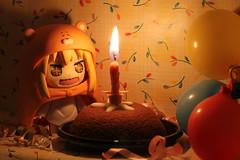 Happy Birthday to Me (Grishnàkh) Tags: nendoroid cute umaru imouto figure goodsmilecompany kawaii birthday compleanno toy mooncake pandistelle food cake