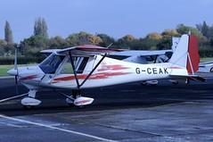 G-CEAK (LIAM J McMANUS - Manchester Airport Photostream) Tags: gceak bartonheritageflyinggroup aerosport ikarus c42 fb80 ikarusc42 microlight cityairportmanchester barton egcb