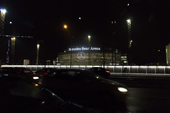 Mercedes Benz Arena (Noémie.dl) Tags: berlin new year nouvel an 2016 2017 architecture colours colors nb black white reichstag allemagne germany hockey wall mur winter christmas noel