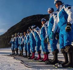 Sexten // Dolomites // Ski instructor trainee teachers loving @wundersocks (MM Socks - Wundersocks) Tags: socks