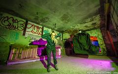 Game Over (Matteo Nebiacolombo) Tags: fear lightpainting urbex paura terrore genova montemoro ghost fantasma demone spectrum abbandono ristoranteabbandonato abandoned