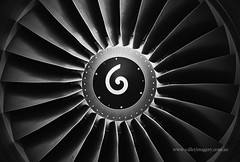 Spinny thing (Explored) (Valley Imagery) Tags: cfm56 p8a turbine