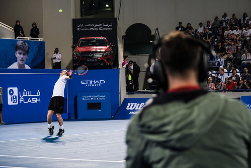 "Andy Murray's service against David Goffin • <a style=""font-size:0.8em;"" href=""http://www.flickr.com/photos/125636673@N08/31616213230/"" target=""_blank"">View on Flickr</a>"