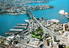 An aerial view of Observatory Hill, Barangaroo, Sydney Harbour Bridge, Kirribilli, Milsons Point, North Sydney, NSW (davemail66) Tags: observatoryhill barangaroo sydneyharbourbridge kirribilli milsonspoint northsydney nsw