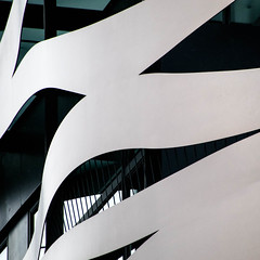 close up (morbs06) Tags: barcelona catalunya suitesavenue toyoito abstract architecture building city colour curves facade glazing hotel light lines pattern reflections shading shadow square stripes undulated urban white windows