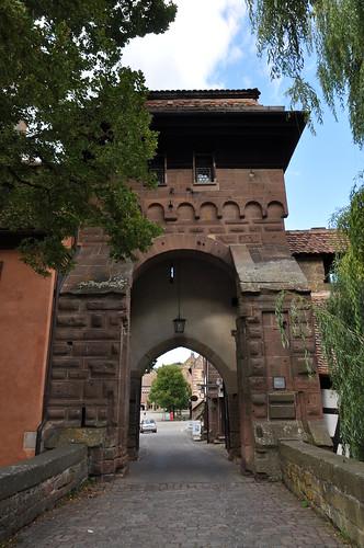 Maulbronn (Alemania). Monasterio. Acceso al recinto monasterial