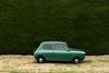 1979 Leyland Mini Clubman (stephen trinder) Tags: thecarsofchristchurch christchurch christchurchnewzealand stephentrinder stephentrinderphotography aotearoa kiwi landscape 1979 leyland mini clubman green hedge