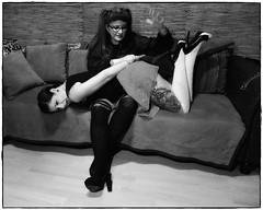 DSCF7411 1 (lemmykane) Tags: fessée badgirls dominante blackandwhite spanking blackdiamont blackwhite monochrome girlsinheels inkedgirls