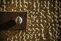 Rusty iron and stone (Ignacio M. Jiménez) Tags: ignaciomjiménez macromondays redux2016myfavoritethemeoftheyear worldwidephotowalkmacrotextures hierro iron piedra stone pared wall tornillo screw ubeda jaen andalucia andalusia españa spain tufototureto