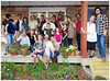 Mi Familia (TravelsWithDan) Tags: family humor funny people holidays togetherness porch portrait