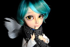 .: Hankiel :. (.: Miho :.) Tags: taeyang koichi sheryl design creator label pullip doll bjd obitsu parabox groove groovedoll pullipdoll taeyangdoll jun planning junplanning taeyangkoichi angel ange feather piercing lippiercing