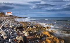 LEKR0874 (Lefteris Kriaris) Tags: greece crete seascape rocks sky clouds church