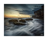 Small beginnings (Mike Hankey.) Tags: littlebay cloud seascape published focus sunrise canoncollective lowtide colour