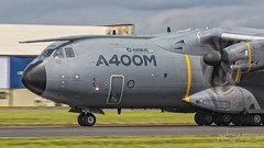 Airbus Military Airbus A400M Grizzly EC-406 (benji1867) Tags: airbus military a400m grizzly ec406 riat iat raf royal international air tattoo force fairford transport cargo test seville san pablo take off avgeek avporn aviation fly flight flying canon 7d2 2016 16 pan panning