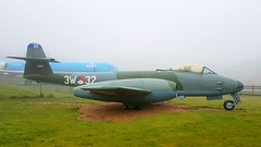 "Gloster Meteor F.8 c/n 6466 Netherlands Air Force serial I-187 preserved as ""3W-32"" (sirgunho) Tags: lelystad aviodrome aviation museum airport dda stichting fokker preserved aircraft aeroplane luchtvaart gloster meteor f8 cn 6466 netherlands air force serial i187 3w32"