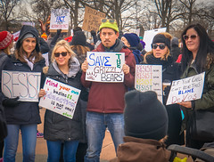 2017.01.29 Oppose Betsy DeVos Protest, Washington, DC USA 00263