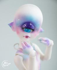 Aileen doll Cyclop OOAK by WillStore (willka_ann) Tags: aileen doll cyclop ooak willstore repaint faceup bjd blushing space art hobby