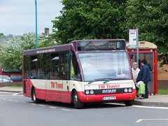 TM Travel 1150 Eckington (Guy Arab UF) Tags: travel bus buses station derbyshire group first hampshire solo tm 1150 eckington optare wellglade m920 wellgladegroup x732fpo