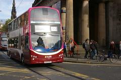 LOTHIAN BUSES 324 SN59BFU (bobbyblack51) Tags: buses eclipse edinburgh wright lothian 2014 gemini2 b9tl
