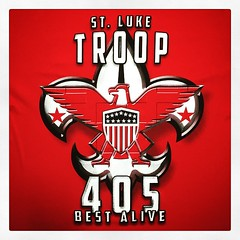 Troop 405 - Best Alive! #Expertees #tshirts #boyscouts #troop405