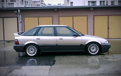 0164_fotoszopki (GekusR) Tags: white car gold si wheels poland rover springs lip british gti sei cracow lowered wannabe spoiler slammed 216 newpaint 214 k16 sportseats jamex dailydriven 14k4f 16k4f 18k4f