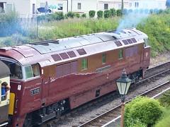 West Somerset Railway. (Adrian Walker.) Tags: train canon diesel kodak transport trains western tamron locomotives wsr z740 60d koodfilters westerncouirer