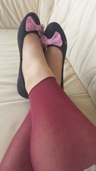 20150604_150834 (microklein50) Tags: feet sandals flats nylon birkenstock leggings ballerinas leggins ballarinas