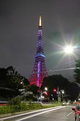 L1000186 (Zengame) Tags: leica light architecture night tokyo illumination landmark illuminated tokyotower     leicaq typ116 summmilux  summilux1728  1728 q