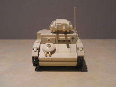 Lego Afrikakorps Panzer II Ausf F (Shockblast1) Tags: tank lego northafrica wwii ww2 worldwar2 panzer dak afrikakorps brickarms legotank