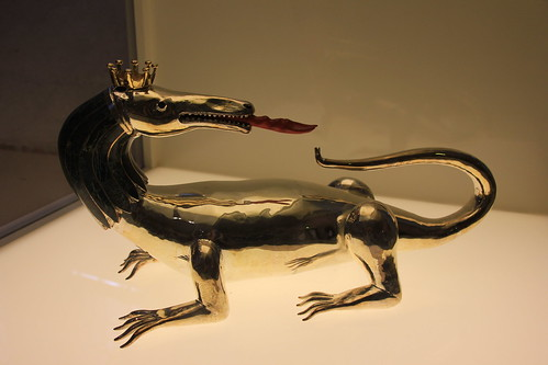 Statuette of Salamander, Château Royal de Blois, France