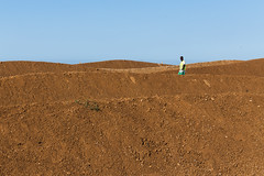6 (Z Vidal Photography) Tags: blue sea sky brown man color colour green beach portugal yellow horizontal architecture canon landscape seaside construction sand waterfront dune dirt land z worker algarve vidal landscapearchitecture constructionworker quarteira loul canoneos6d july2015 zvidal