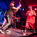 Public Enemy - Chuck D with his 'lightsabre' and Flavor Flav