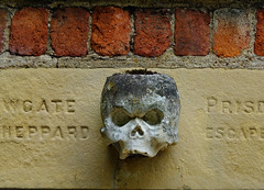 Newgate Prison Relic (tubblesnap) Tags: house home skull hall prison stately newgate ripon newby