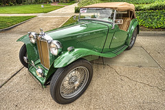 Floral Park Home Tour & Vintage Auto Display 2015 (dmentd) Tags: 1948 mg tc