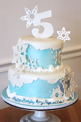 Tiered Snowflake Custom