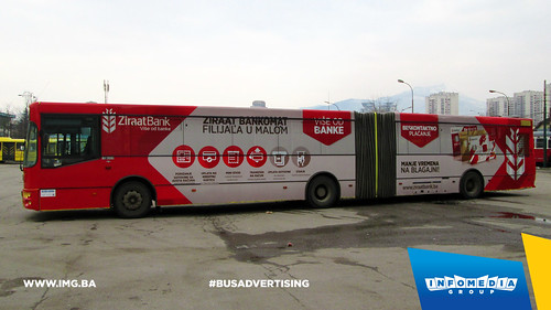 Info Media Group - Ziraat Bank, BUS Outdoor Advertising, Sarajevo 03-2015 (3)