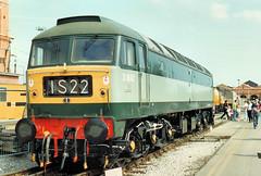 47192 (R~P~M) Tags: uk greatbritain england train cheshire diesel unitedkingdom railway crewe locomotive 47 workd adtranz