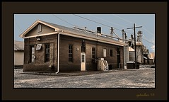 CSX Railroad Bldg (the Gallopping Geezer 3.8 million + views....) Tags: old building mi rural canon michigan country elevator grain structure feed tamron geezer corel 6d 28300 2015