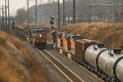 Busy at Berry (Darryl Rule's Photography) Tags: bnsf cpberry csx csxt clouds cloudy december diesel diesels emd eastbound fall ge k140 l128 meet oil oiltrain oiltrains pa pennsylvania philadelphia q388 railroad railroads sd70ace sun tankcar tankcartrain tankers train trains trentonsub westbound