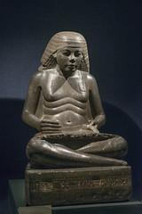 Museum Luxor: Statue of Amenhotep, Son of Hapu (kairoinfo4u) Tags: egypt luxor museumluxor