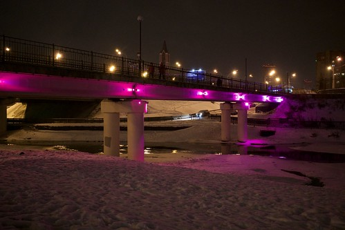 the pink bridge