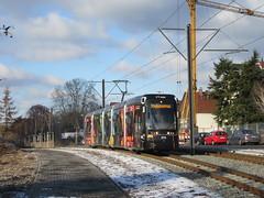 Über den Berg (VerkehrsFotos) Tags: 2017 verkehr mainz strasenbahn best
