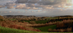 Place with a view.. (Ollie_57.. on/off) Tags: landscape scenic view vista panorama clouds trees feilds town sea ocean canon 7d ef24105mm hdr photostitch winter jan 2017 countryside cockington torbay westcountry devon england uk affinityphoto ollie57 saariysqualitypictures
