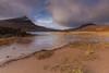 Loch Lurgainn .. (Gordie Broon.) Tags: lochlurgainn stacpollaidh scottishhighlands westerross coigach reeds scotland schottland ecosse caledonia scottishwesternhighlands beinnaneoin landscape paysage scenery vista clouds sky achiltibuie lochinver achnahaird collines scenic heuvels paisaje lago lake meer lac gordiebroonphotography ullapool colinas paesaggio beach hills mountains outdoor sgorrtuath linneraineach drumrunie badnagyle canon5dmklll canon1635f4l geotagged