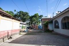 5D8_7402 (bandashing) Tags: village house bangla red trees green simple light shadow blue sky street sylhet manchester england bangladesh bandashing aoa socialdocumentary akhtarowaisahmed