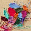 Crazy quilt crochet pieces in need of tricking out (crochetbug13) Tags: crochet crocheted crocheting crazyquilt crazyquiltcrochet crochetafghan crochetblanket crochetembroidery