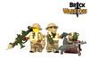 Jan 2017 - WW2 British Sapper (BrickWarriors - Ryan) Tags: brickwarriors custom lego minifigure weapons helmets armor ww2 world war guns machine british brodie rocket launcher grenade allies military